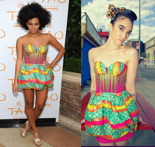 Solange Knowles is the queen of African prints